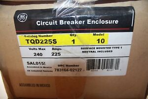 Ge Tqd225s Circuit Breaker Enclosure