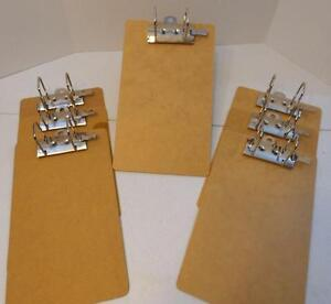 Lot Of 7 Large D Ring Just Basics Clipboards 15 Long 8 7 8 Wide