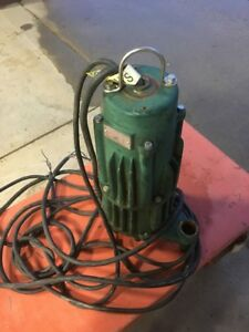 Zoeller Submersible Sewage Pump F840 e2hp 3 ph 3450rpm