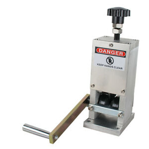 Manual Wire Stripping Machine Copper Cable Peeling Stripper Motor Can Connected