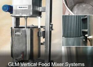 Vertical Food Mixer System Great For Hummus Tahiti Salads Ground Meat Est