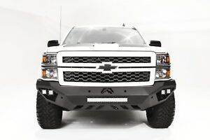New Fab Fours Vengeance Heavy Duty Front Bumper Chevy 1500 2014 2015