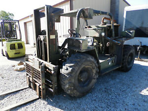 Hyster 4k Lift 24k Pull 4x4 Airport Real Rough Terrain Turbo Cummins Military