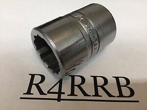 Clean 1962 Snap on Tools Usa 3 4 Drive 12 Point 1 1 16 Sae Chrome Socket Ldh342