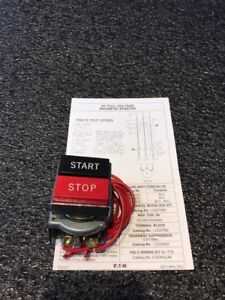 Cutler hammer E30 Series Start stop Pushbutton Red And Black Used