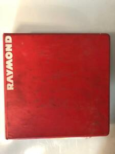 Raymond Maintenance Manual Easi Reach fork Lift Truck
