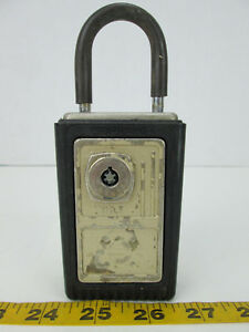 Vintage Supra c Lock Box No Key Realator Title 6139 Supra Products Skubgs