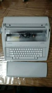 Brother Correctronic Gx 6750 Electronic Typewriter electric Works