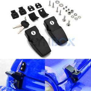 Anti Theft Locking Hood Catch Lock For 2007 2017 Jeep Wrangler Jk Unlimited