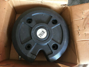 75 Lb Tractor Wheel Weight Great Condition
