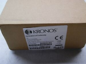 Kronos 9000 9100 Touch Id Plus H3 H4 Biometric Reader 8609042 001 New