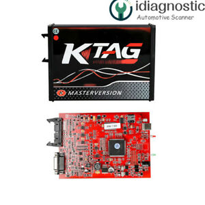 Obd2 Manager Tuning Kit Eu Online Red Pcb Ktag V7 020 Car Ecu Programmer K tag