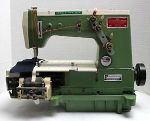Rimoldi 261 Coverstitch Elastic Metering Device Industrial Sewing Machine Head