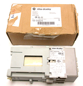 New In Box Allen bradley 100 c43dj10 Contactor Series A