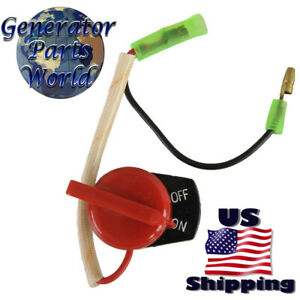 On Off Switch For Honda Gas Water Pump Wd20xk1 Wd30x Wd30xk1 Wdp20x 2 Wire