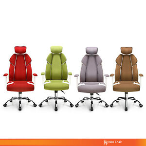 Ergonomic Home Office Executive Chair Gaming Chair With Headrest jubilant h