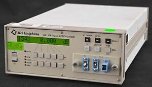 Jds Uniphase Ha1 Bench Top Digital Programmable Optical Attenuator