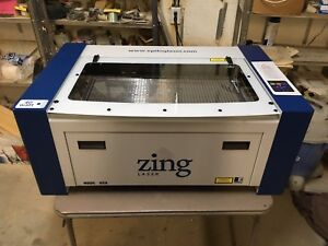 Epilog Zing Model 10000 Laser Engraver New Made In Usa