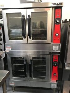Vulcan Vc4ed Electric Convection Oven Double Stack