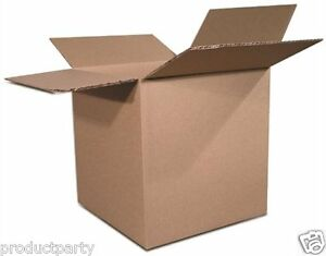 100 6x6x6 Boxes For Shipping 6 X 6 X 6 Bulk Quality Generic Small Plain Boxes