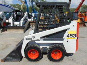 Bobcat 453 Mini Series Kubota Diesel Only 3 Wide Compares To S 70