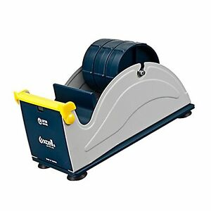 Excell Ex 17 3in Jvcc Ex 17 Steel Desk Top Tape Dispenser 3 Wide Blue grey