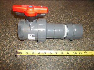 New Spears 2 Pvc Ball Valve Locking With Attachments
