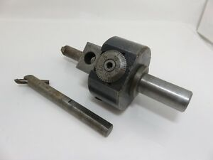 Bridgeport No 2 Milling Boring Head With Tools Allen Wrenches 1 Inch Shank