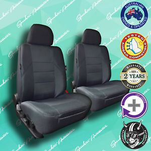 Ford Falcon Grey Front Car Seat Covers High Quality Elegant Jacquard