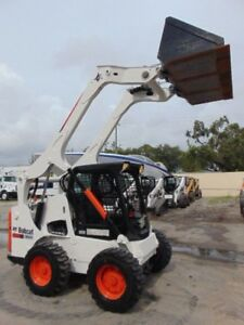 2013 Bobcat S 750 Turbo New Tires Deluxe Display Monitor Keyless Security