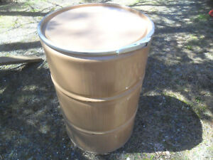Open Top Lid 55 Gallon Drum grill smoker burn Barrel uds stove ct Pickup Only