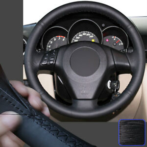 Stitch On Wrap Steering Wheel Cover For Mazda 3 M3 06 10 M5 Mazda Speed Mpv M6