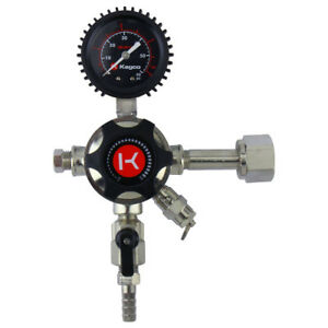 Kegco Lhu51 Elite Series Single Gauge Co2 Draft Beer Regulator