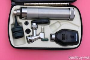 Welch Allyn Diagnostic Set W 21700 Operating Otoscope Ophthalmoscope Veterinary