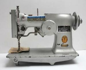 Singer 107w1 Special Scallop Waves Pattern Industrial Sewing Machine Head Only