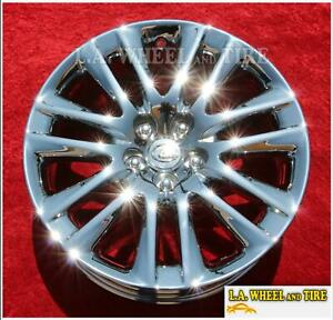 Set Of 4 Chrome 19 Wheels For Lexus Ls460 Ls460l Ls600hl 74284