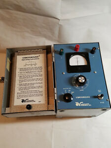 Vibroground 3 Point Earth Resistance Ground Tester Associated Research 255a