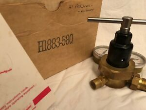 Smith H1883 580 Welding Regulator Valve Argon Gas Max Inlet 3000 Psi
