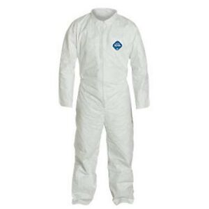 Dupont Tyvek Ty120swh Coverall Suit Dupont 2xl 25 case 1 Case