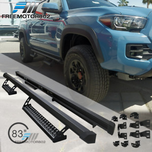 Fits 16 18 Toyota Tacoma Double Cab Trd Pro Oe Style Running Boards Nerf Bars