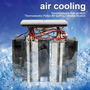 Semiconductor Thermoelectric Peltier Refrigeration Cooling Device Cooler Fan Diy