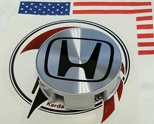 44732 s5p a01 X4 Oem Honda Civic Jdm Integra Wheel Center Caps h Logo Polished