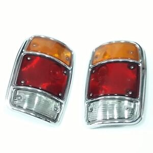 Datsun Sunny B120 Pickup Truck Tail Light Rear Lamp Genuine Parts Nos Jp pair