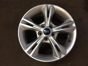 Wheel 16x7 Alloy 5 Double Spokes Painted Fits 12 14 Focus 393264