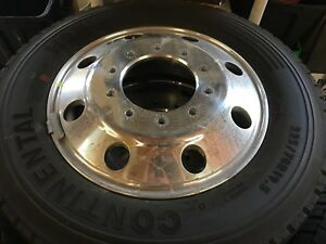 Ford F450 F550 Alcoa Aluminum Wheels And Tires New Take Offs