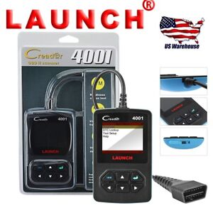 Creader 4001 Launch Obd2 Scanner Engine Fault Code Reader Diagnostic Scan Tool