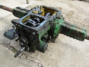 1965 John Deere 3020 Syncro Rearend And Transmission Rear End 3010