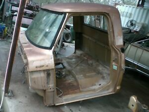 71 Ford F250 Pickup Truck Cab Roof To Floor Pan Good Drip Rails