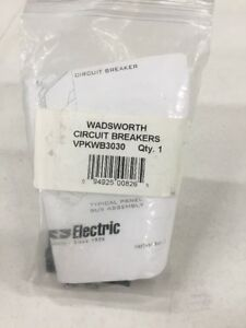 Connecticut Electric Vpkwb3030 Wadsworth Circuit Breaker Twin Pole 30 amp