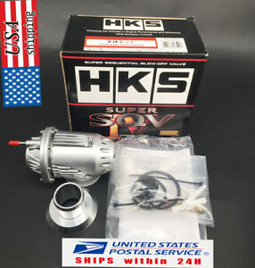 New Universal Hks Ssqv4 Bov Super Sequential Iv Turbo Blow Off Valve Oem Silver